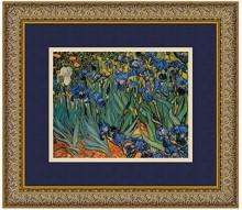 Amanti Art Les Irises (Irises) Framed Art Print by Vincent van Gogh
