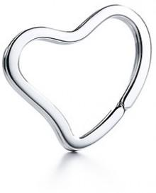 Elsa Peretti® Open Heart key ring