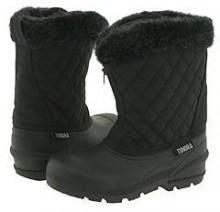 Tundra Kids Boots - Snowdrift (Little Kid/Big Kid) (Black) - Footwear