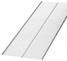 "20"" x 4' elfa® Ventilated Shelf Platinum"